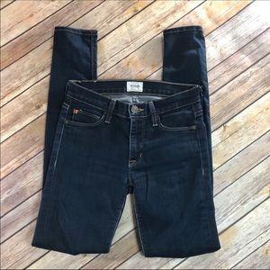 Hudson Jeans Nico mid-rise super skinny jeans 23